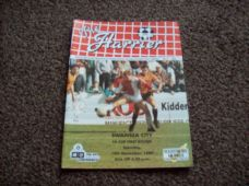 Kidderminster Harriers v Swansea City, 1989/90 [FA]